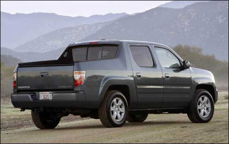 ... 2006 honda ridgeline this is the first truck made by honda like the