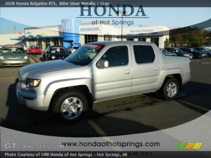 2008 Honda Ridgeline RTS in Billet Silver Metallic. Click to see large ...