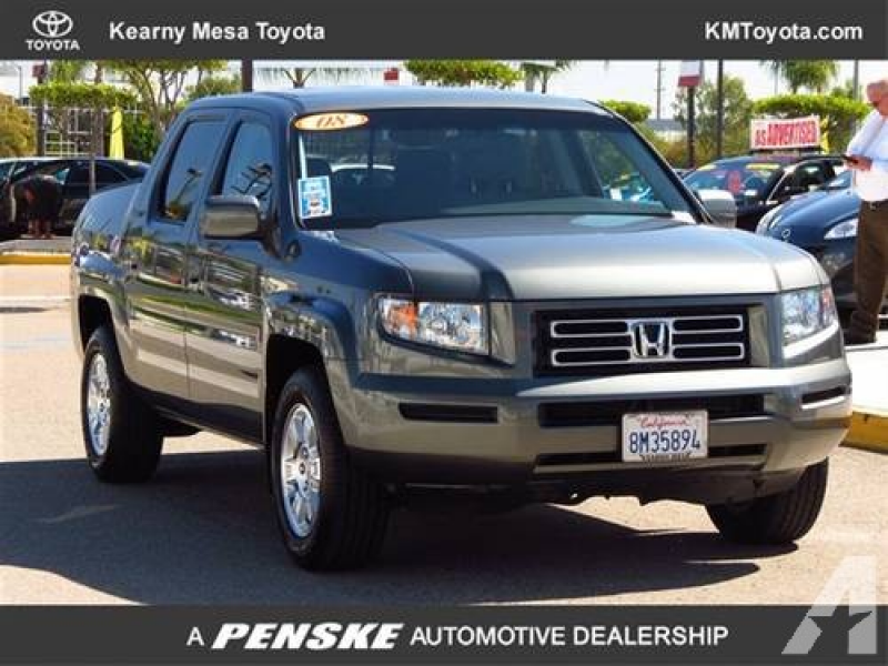 2008 Honda Ridgeline Truck 4WD Crew Cab RTS 4x4 Truck for sale in San ...