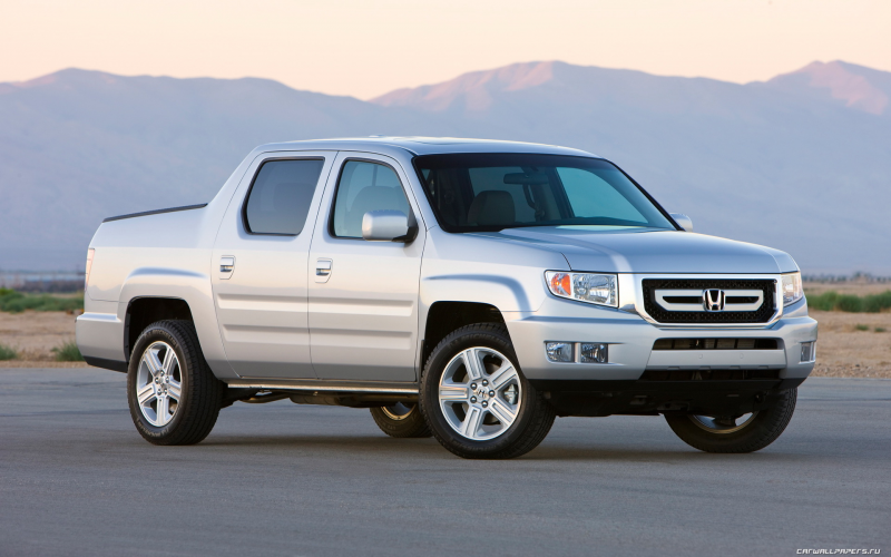 Car wallpapers Honda Ridgeline RTL - 2009