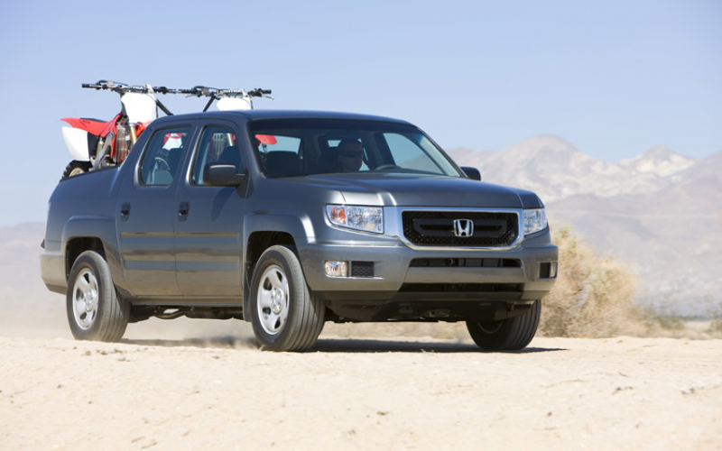 2009 Honda Ridgeline Front Three Quarter View