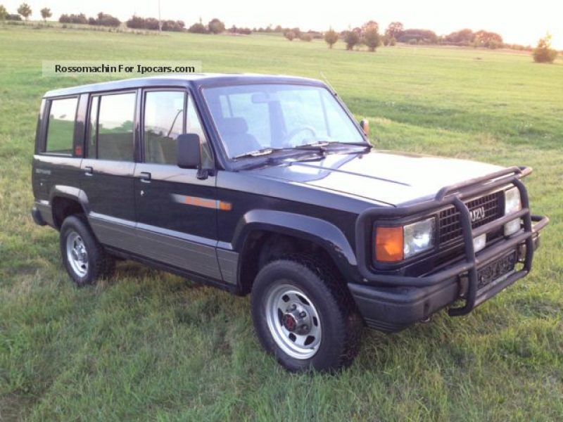 1991 Isuzu Trooper FLK 4 \ Off-road Vehicle/Pickup Truck Used vehicle ...