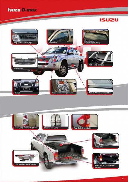 ISUZU D-MAX ACCESSORIES & PARTS