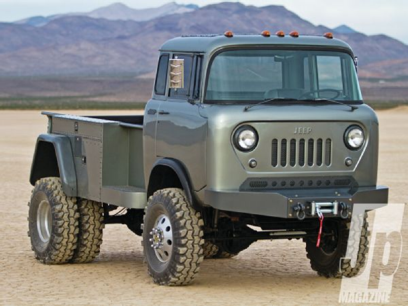 1963 Jeep Forward Control FC-170 - Pug Nose