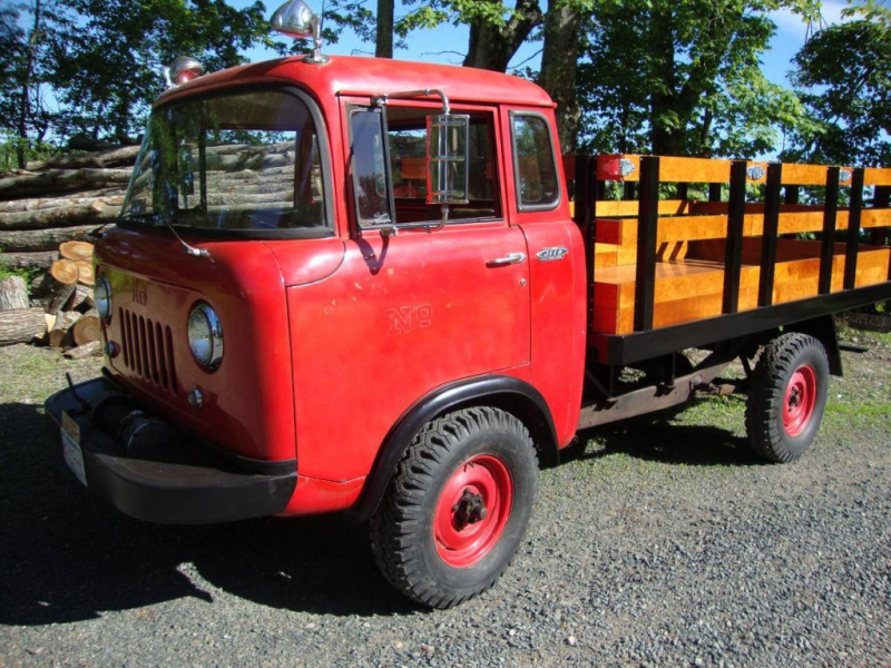 16K Miles: Clean 1962 Willys Jeep FC-170