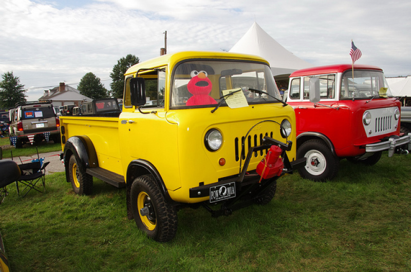1961 Jeep Forward Control FC-170 Pickup Truck - Buick Odd Fire V6 ...