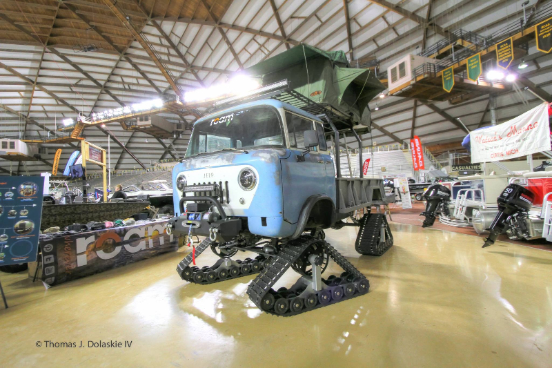 Our 1960 Willys Jeep Forward Control FC170. Meet Forward Frank.