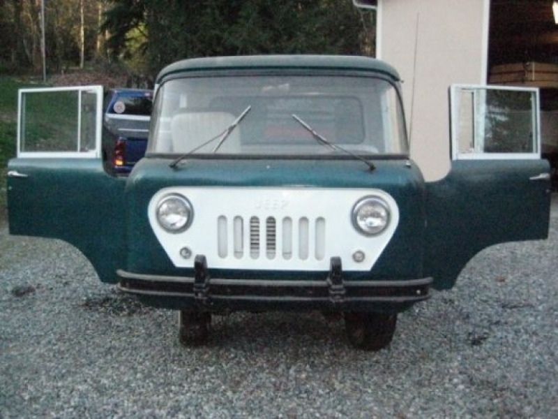 BaT Exclusive: 1958 Willys Jeep FC150 Project