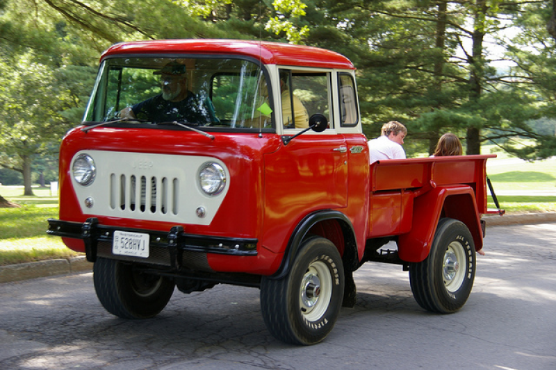 Jeep Forward Control FC-150 Pickup Truck