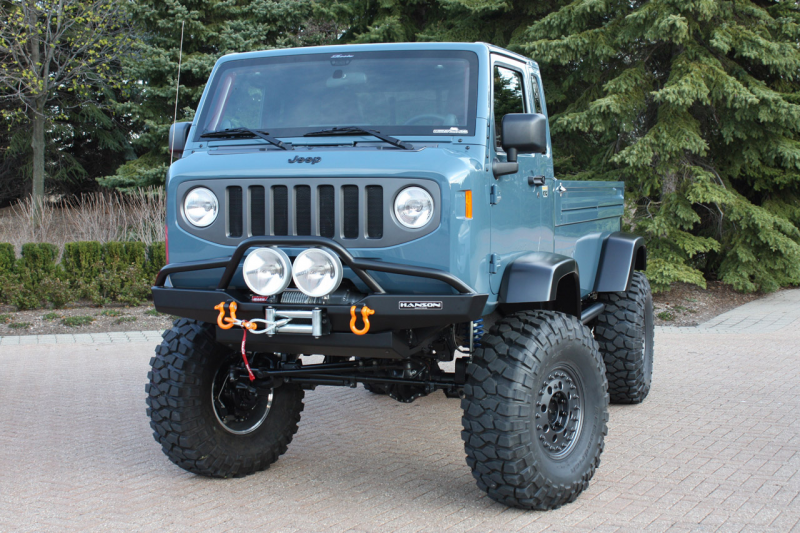 Spotted: Mighty FC, Jeep Concept Vehicle