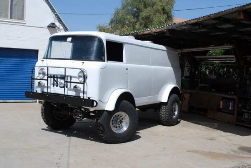 Truck Thursday: Jeep Forward Control Van
