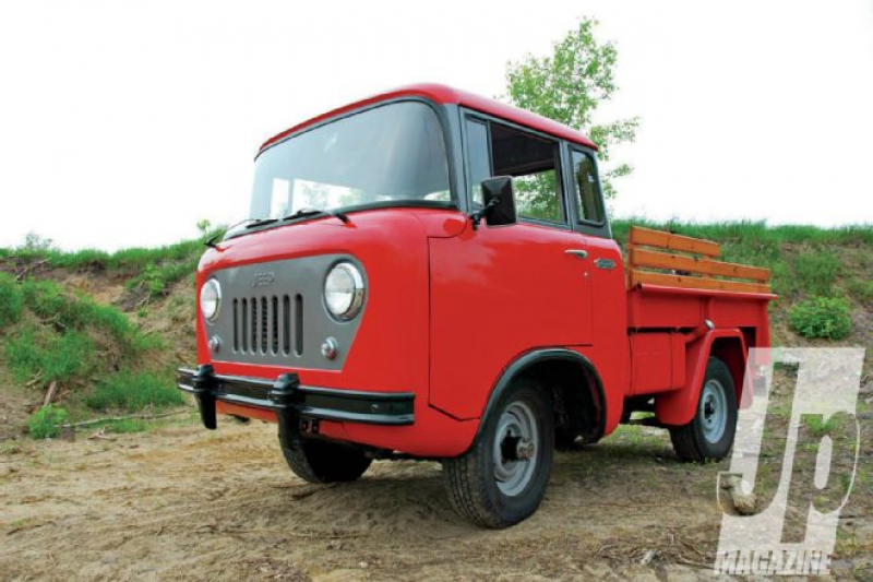 1957 Jeep FC-150 - Jeep Encyclopedia