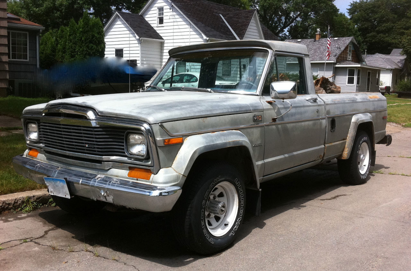 File:Jeep J-10 pickup truck grey-fl.jpg