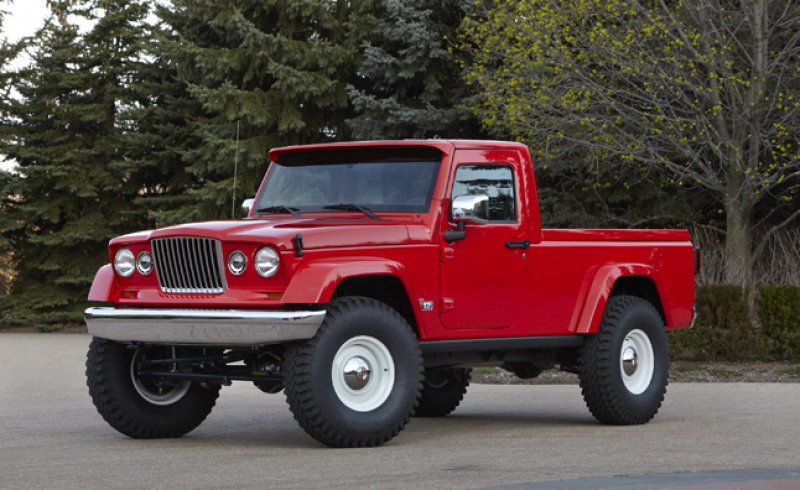 Jeep Wrangler Pickup Hinted at by Exec