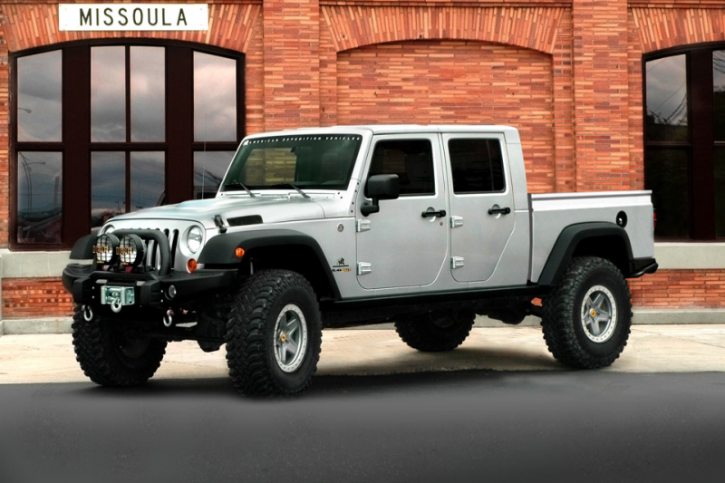AEV Brute Double Cab Jeep Pickup
