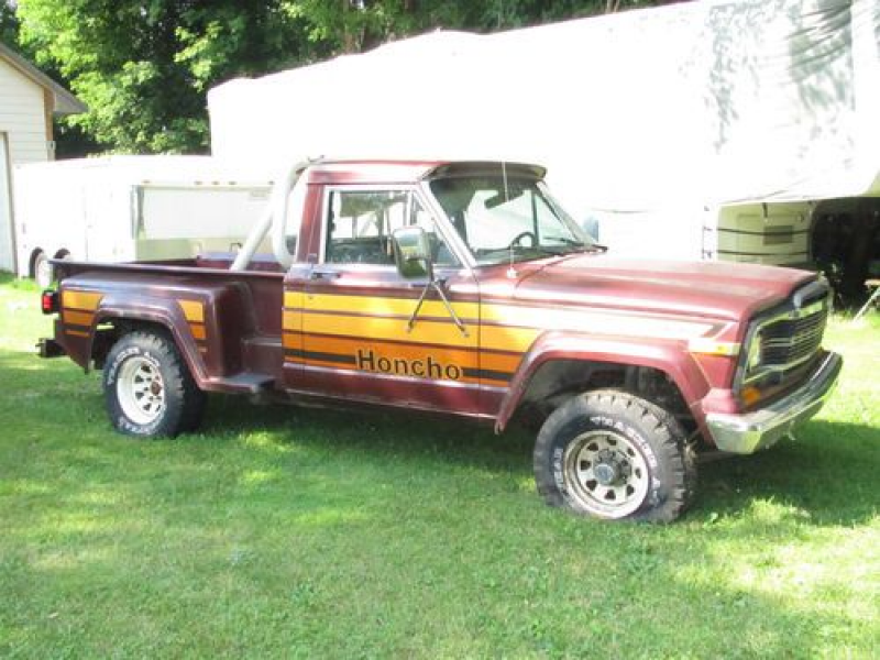 1980 Jeep Honcho J10 Stepside 4x4 Pickup, For Part Or Restoration on ...