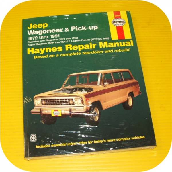 new haynes manual for wagoneer 72 thru 83 grand wagoneer