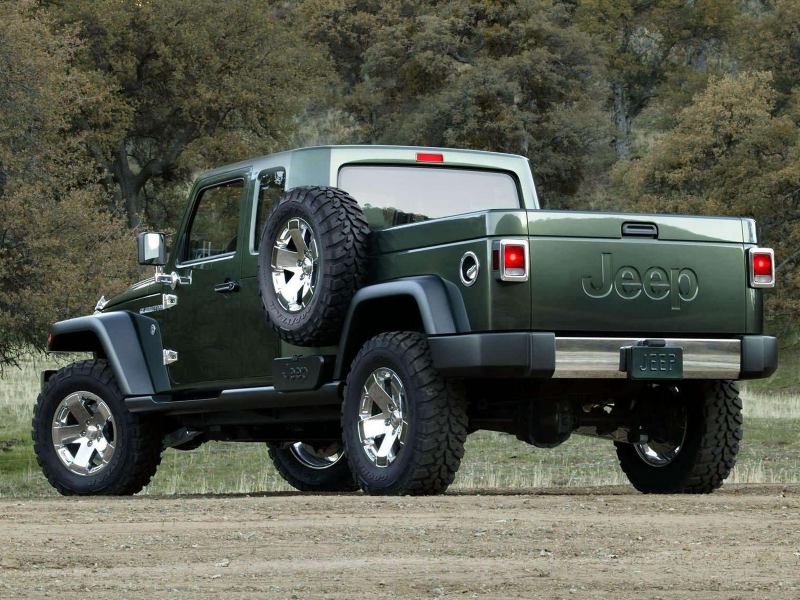 2005 JEEP Gladiator Concept pictures, review