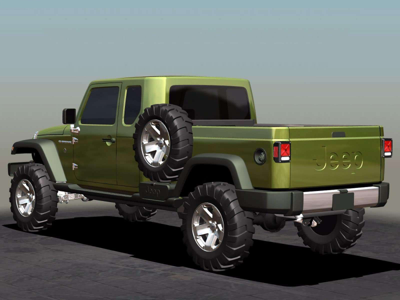 2005 JEEP Gladiator Concept car pictures download