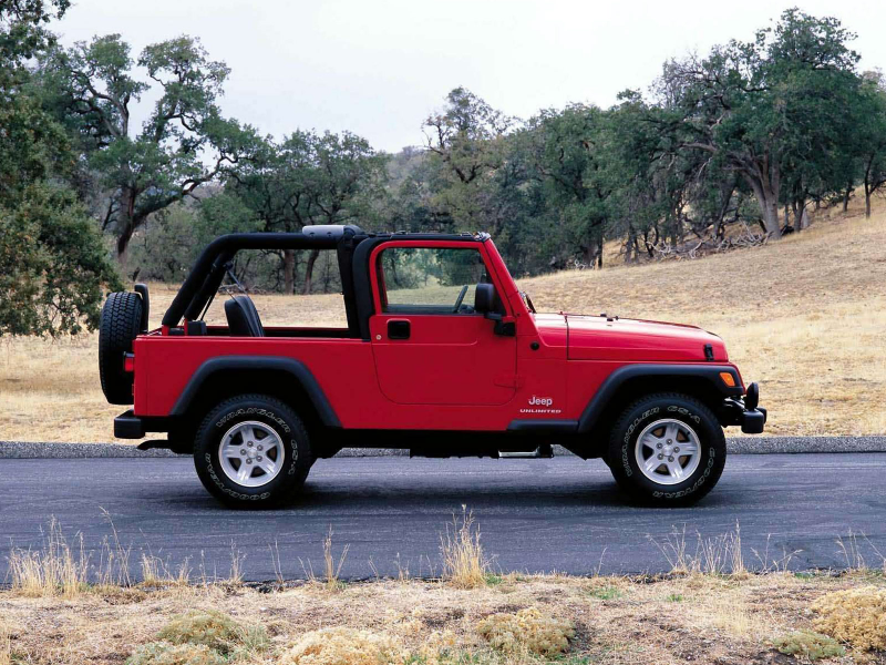 2004 JEEP Wrangler Unlimited car pictures download