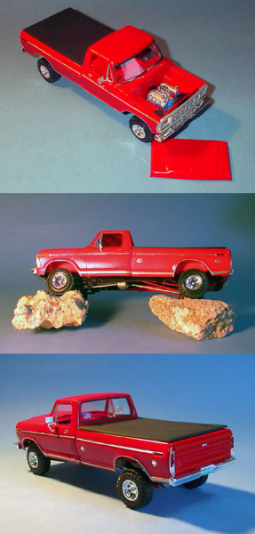 AMT 1979 Ford F150 Pickup Truck Model Kit