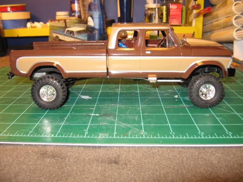 com ar moebius models 1 25 1971 ford ranger pickup truck model kit ...